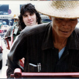 Cozy Powell in a rickshaw (Hong Kong 1979)