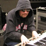 Don Airey hooded